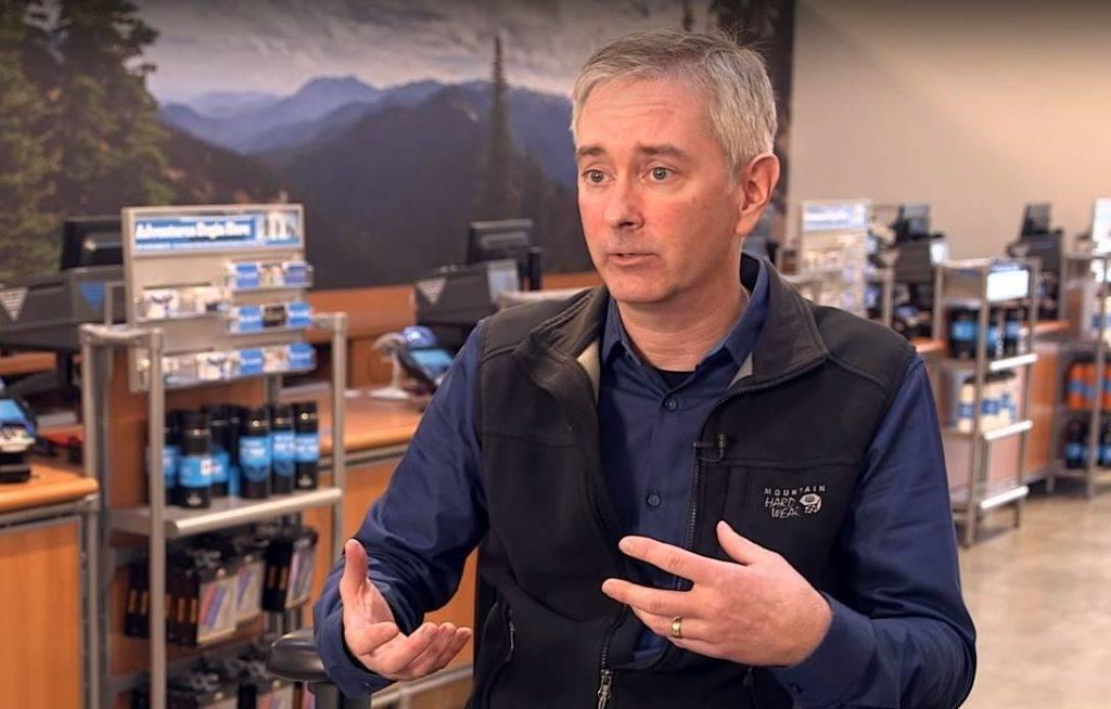 John Spiegel of Columbia Sportswear