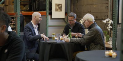 Tech executives gathered at a 3 Tree Tech-Exec Roundtable