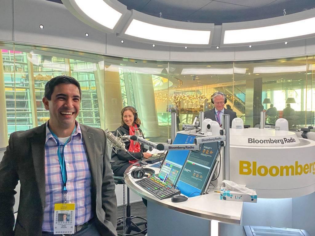 Eric Skeens On Bloomberg Radio