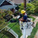 telecom worker